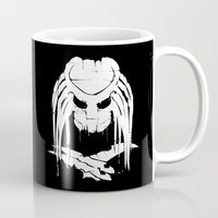 predator Mugs featuring Pochoir - Predator by Krikoui