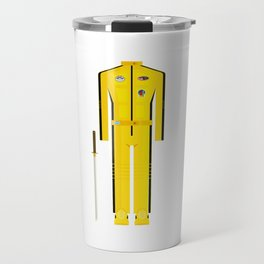 American Martial Arts Assassin Film Costume Minimal Sticker Travel Mug