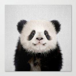 Panda Bear - Colorful Canvas Print