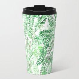 Watercolor Palms I Travel Mug