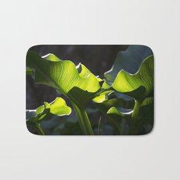 Green Contrast - Light and Dark Bath Mat