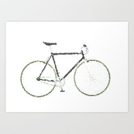 My Fixie Bike Art Print