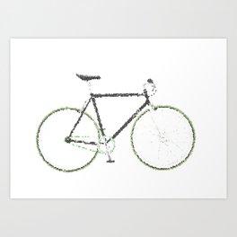 My Fixie Bike Art Print