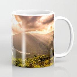 Hong Kong Mountainscape at sun Coffee Mug