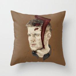 Mark of Cain Throw Pillow
