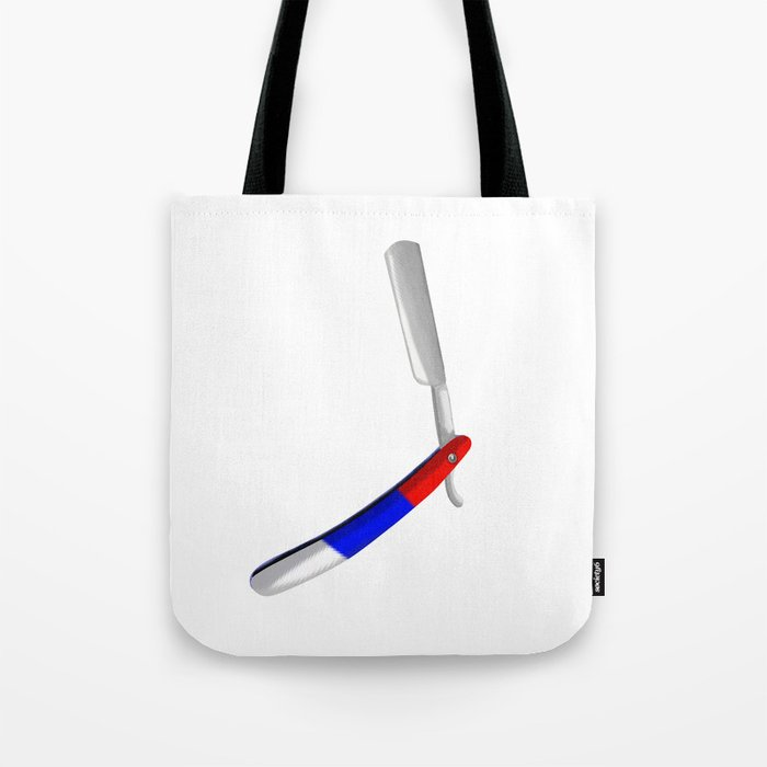 Straight Razor Tote Bag