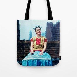FRIDA IN NEW YORK Tote Bag