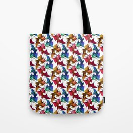 Koi carp fish fish Colorful pattern Tote Bag
