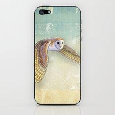 Barn Owl Labyrinth iPhone & iPod Skin