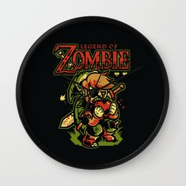 Legend of Zombie Wall Clock
