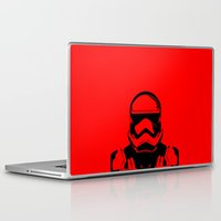 trooper Laptop & iPad Skins featuring Trooper  by Rabassa