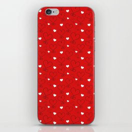 LOVE AND HEARTS iPhone Skin