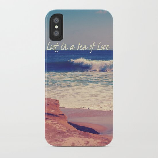 Sea of Love iPhone Case