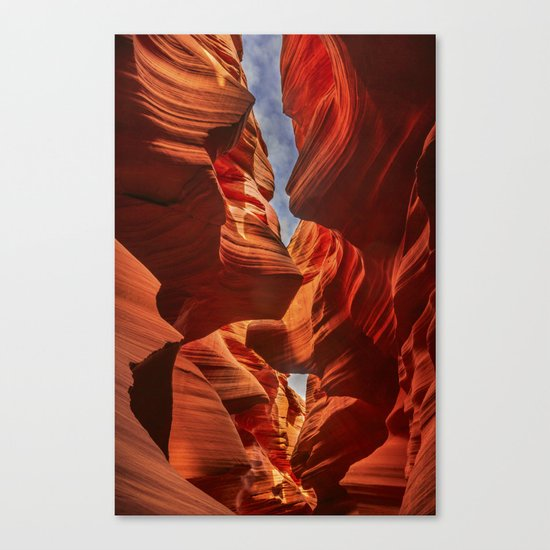Lower Antelope Canyon, Arizona, USA Canvas Print