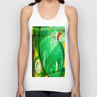 golf Tank Tops featuring Golf Anyone? by Robin Curtiss