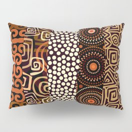 Geometric African Pattern Pillow Sham