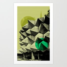 Headquarters Art Print