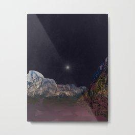 Mystical Yosemite Hike Metal Print