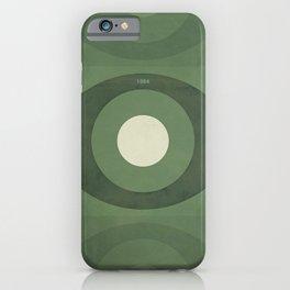 George Orwell Nineteen Eighty-Four - Minimalist literary design, bookish gift iPhone Case