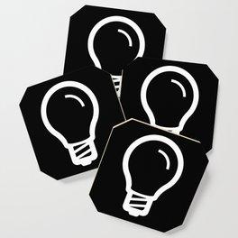 The Thinker's Right - Basic Logo Coaster