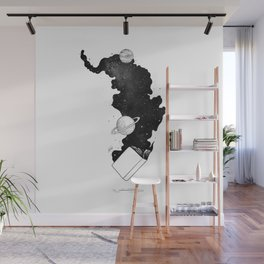 The magic of knowledge. Wall Mural