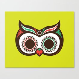 Day 0f the Dead Owl Canvas Print