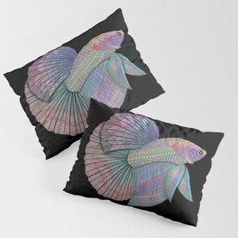 A Beautiful Betta Fish Pillow Sham