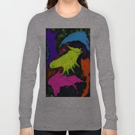 paint and glitter Long Sleeve T-shirt