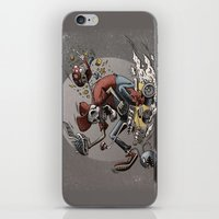 mario kart iPhone & iPod Skins featuring Death Kart by Calakka