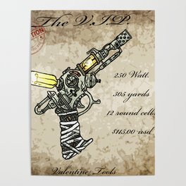 Raygun this is not a pipe Poster