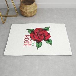 Wild rose, for wild  girls Rug