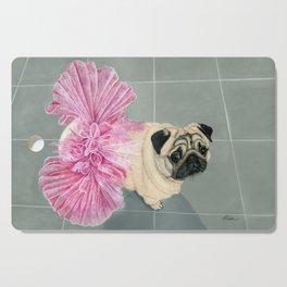 Pug in a Tutu Cutting Board