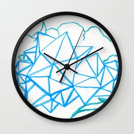 Rare Crystal Dragonling Wall Clock