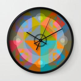 Canotila - Colorful Round Shape Wall Clock