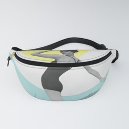 Swimmer Collage Fanny Pack
