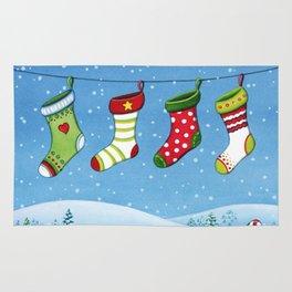Christmas stockings Rug