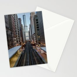 It's Quiet in the Morning Stationery Cards