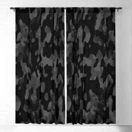 Camouflage Noir/Gris Blackout Curtain