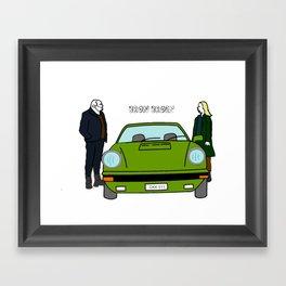 Bron Broen Framed Art Print