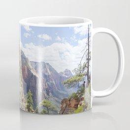 Angels Landing at Zion National Park Coffee Mug