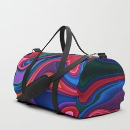 Melted Rainbow Duffle Bag