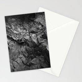 black rcks Stationery Cards