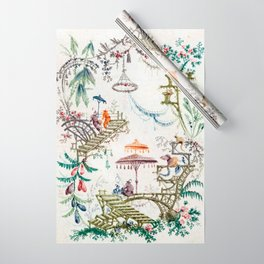 Enchanted Forest Chinoiserie Wrapping Paper