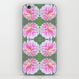 252 - Pink Flower Pattern iPhone Skin