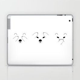 Three Wise Polar Bears Laptop & iPad Skin