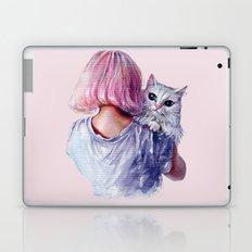 Pink Cuddles Laptop & iPad Skin