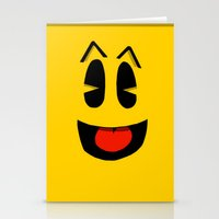 pacman Stationery Cards featuring Pacman  by Valiant