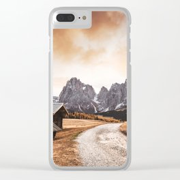 seiser alm in south tyrol Clear iPhone Case