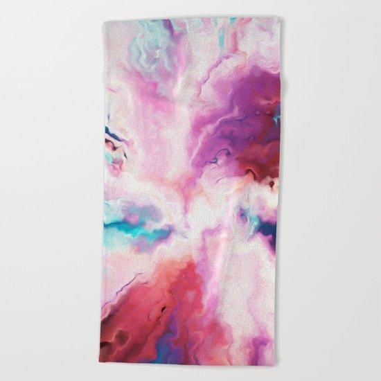 The Absent Minded Artist #society6 #decor #buyart Beach Towel