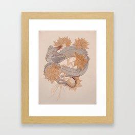 Astral Candy (Minimal) Framed Art Print